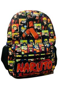 Mochila Escolar De Costa Naruto Tamanho G Juvenil