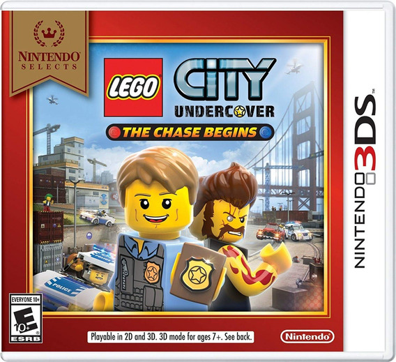Lego City Undercover The Chase Begins Para 3ds, Nuevo
