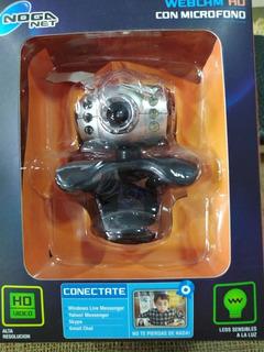 Webcam Ngw -091 Hd Con Microfono Noga