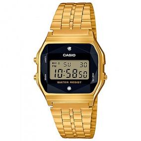 Relógio Casio Feminino A159wged-1df Dourado - Refinado