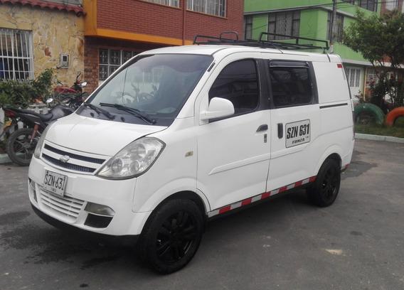 Chevrolet N200 Van Cargo Carga Placa Blanca Publico