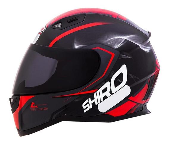 Capacete Shiro Sh881 Motegi