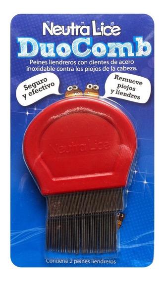 Par De Peines Liendreros De Acero Inox Neutralice Duocomb
