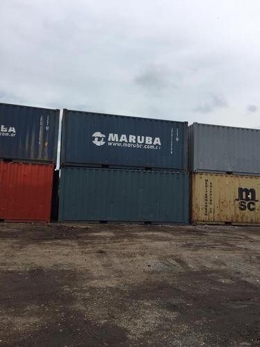 Containers Marítimos Contenedores Nac, Usados 40' Dry