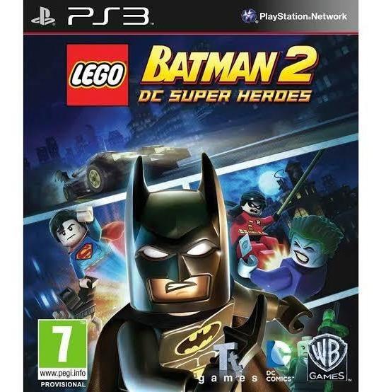 Lego Batman 2 Dc Super Heroes Ps3 Receba Agora