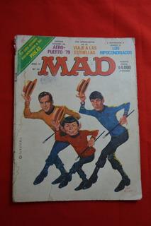 Revista Mad Argentina # 40 - 1980 Viaje A Las Estrellas