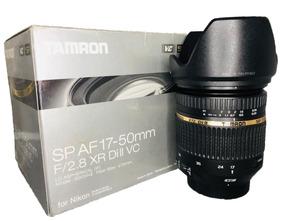 Lente Tamron 17-50mm Para Nikon Seminova Impecável