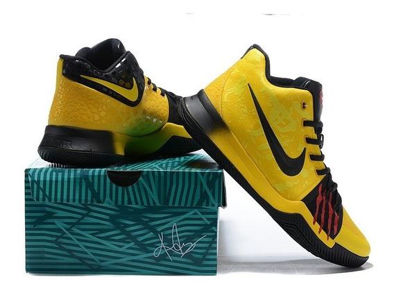 Tênis Kyrie 3 Especial Raro Basketball Shoes C/caixa