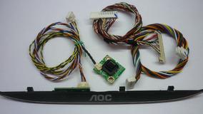 Teclado + Sensor Ir + Cabos Tv Aoc Le 32d1352