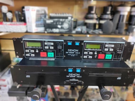 Cdj Duplo Denon Dn-2000f Mk2 Controle Perfeito!!