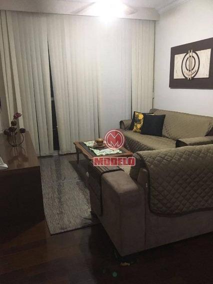 Apartamento Com 3 Dormitórios À Venda, 128 M² Por R$ 510.000,00 - Paulista - Piracicaba/sp - Ap1369