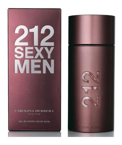 212 Sexy Men De Carolina Herrera Eau De Toillette 100 Ml