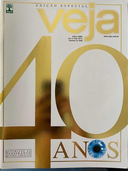 Revista Veja Edição De 40 Anos