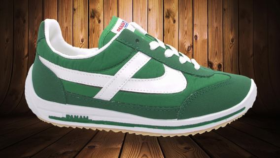 Tenis Panam 22 - 31 1784 070 Verde Blanco