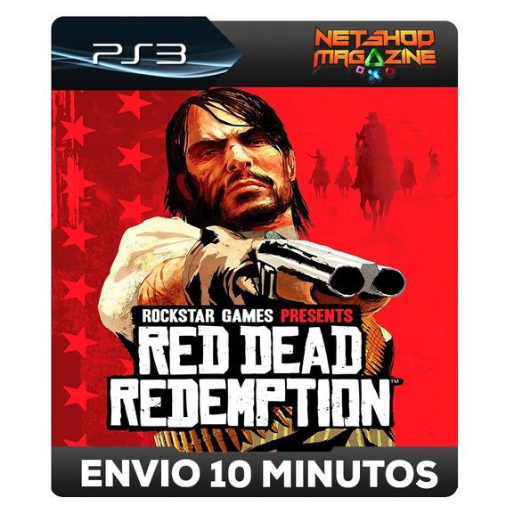 Red Dead Redemption - Psn Ps3 - Envio Imediato