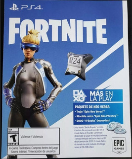 Fortnite Skin Neo Versa Exclusive Ps4 Y 600 V-bucks