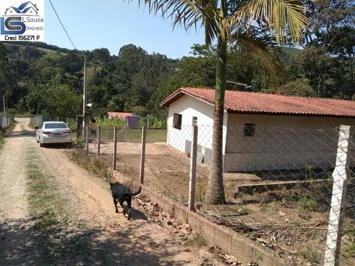 Chácara Localizada Em Pedra Bela, Interior De São Paulo; - 1125 - 68997659