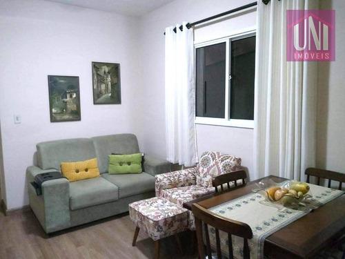 Imagem 1 de 17 de Apartamento Com 2 Dormitórios À Venda, 84 M² Por R$ 350.000 - Parque Das Nações - Santo André/sp - Ap1570