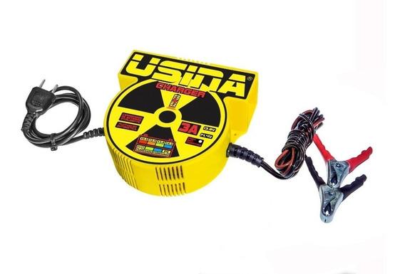 Carregador De Baterias Carro E Moto 3a 12v Usina