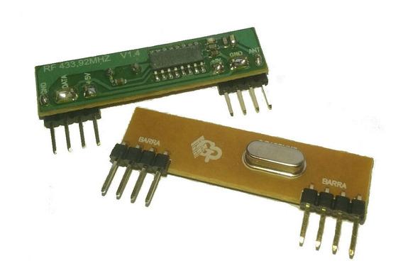 10pçs Módulo Receptor Rf 433mhz