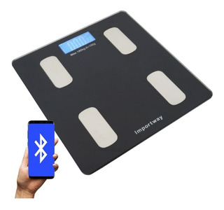 Balança Bioimpedância Corporal App Bluetooth Importway