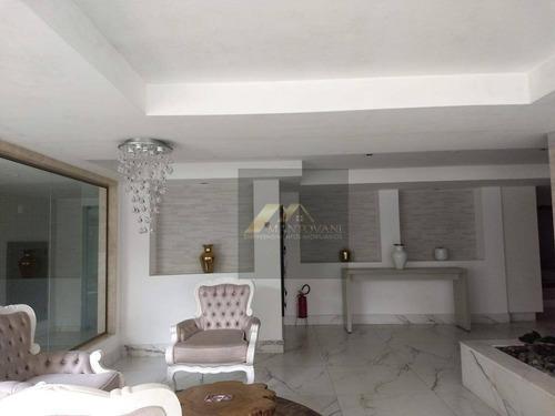 Maravilhoso Apartamento No Canto Do Forte Com 03 Dormitórios Todos Suítes, Sala 02 Ambientes. A 100 Metros Da Praia - Ap1735