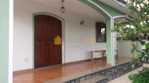 Casa Residencial À Venda, Santa Rosa, Niterói. - Ca0753