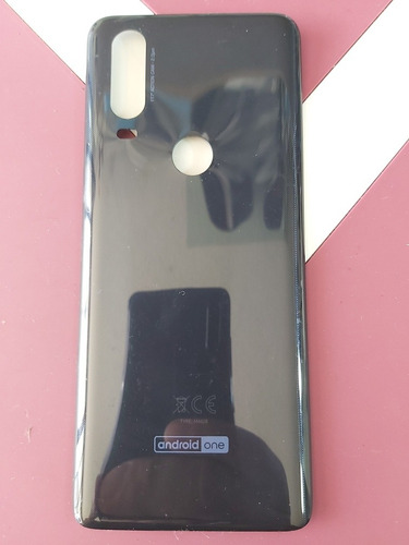 Tapa Para Motorola One Ref M4628 Color Azul De 2da