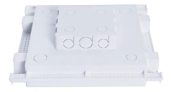 Caixa Embutir Painel Led Na Laje Plasled 24w / 30x30 12 Unid
