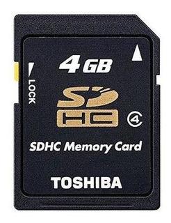 Cartão De Memória 4gb Sdhc Toshiba Pronta Entrega