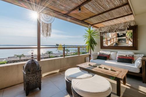 Apartamento En Venta Y Alquiler Temporario En Punta Ballena. Magníficas Vistas Al Atardecer- Ref: 3638
