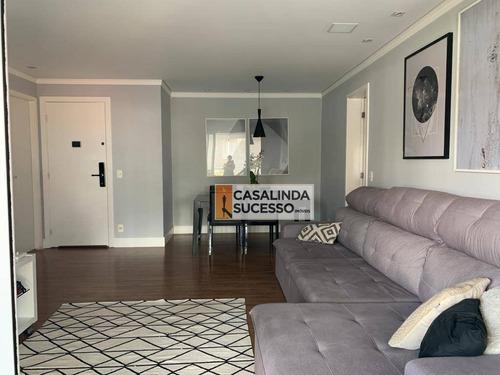 Imagem 1 de 27 de Apartamento Com 4 Dormitórios À Venda, 125 M² Por R$ 1.150.000,00 - Vila Carrão - São Paulo/sp - Ap6057
