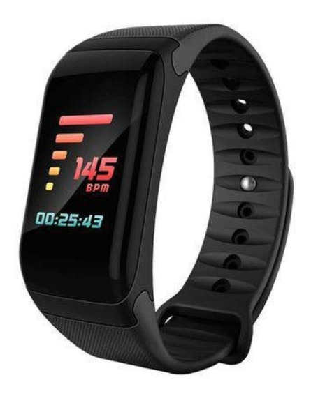Relógio Smart Band Pressão Arterial F1 Plus Display Colorido