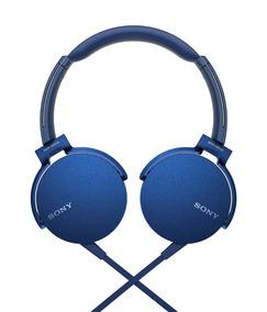 Fone De Ouvido Sony Mdr-xb550/l Azul