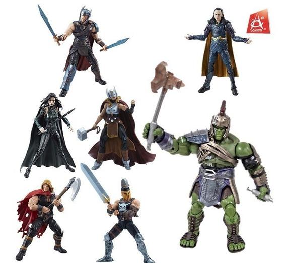 Set Thor Ragnarok Marvel Legends