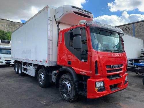 Iveco Tector  Bi-truck Baú Frigorífico Refrigerado 14/14
