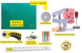 Kit Base De Corte, Patchwork, Scrapbook + Régua 5x60 E Brind