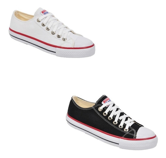 Combo 2 Pares All Star Converse Ct As Cores Ox Original Loja