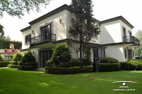 Imagen 1 de 11 de Excelente Casa Clásica De Las Lomas, Car-3998
