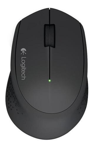 Imagen 1 de 2 de Mouse inalámbrico Logitech  M280 negro
