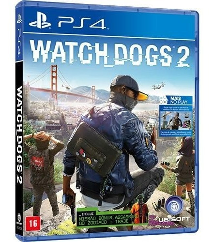 Jogo Watch Dogs 2 Playstation 4 Ps4 Midia Fisica