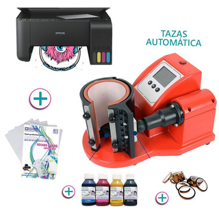 Impresora L3150 + Maquina Sublimadora De Tazas Mates Chops