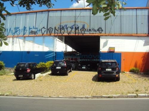 Barracão Para Alugar Jardim Do Trevo, Barracão Para Alugar Em Campinas - Ba00199 - 33554330