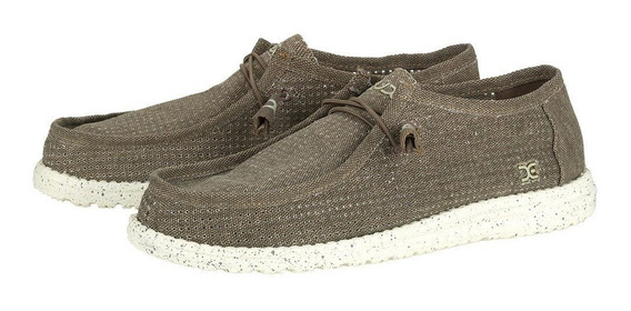 Zonazero Zapatos Nauticos Hey Dude Wally Perforated Hombre