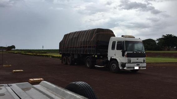 Conjunto Ford Cargo 4030 Cavalo Cabinado 4x2 Carreta 8,10 M