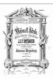 Dotzauer - Método Para Violoncelo Vol 1 E 2
