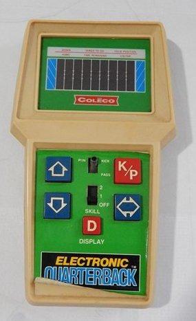 Vintage Coleco Electronic Quarterback Funcionando 1978