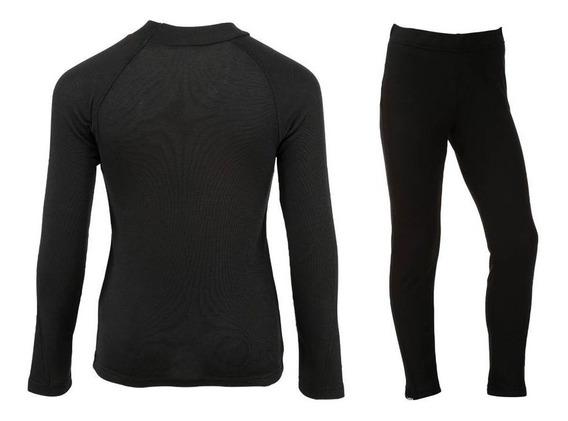 Conjunto Térmico Blusa Y Pantalon Para Dama Sub Traje Simple Técnico Cómodo 1ra Capa Nieve Esquiadores Snowboarders Warm