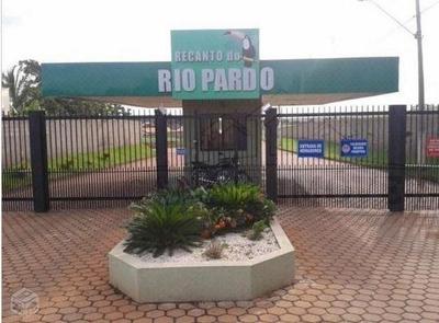 Terreno Condomínio Residencial Recanto Do Rio Pardo Em Jardinópolis , 1020 Metros, Murado Nas Laterias - Te0017