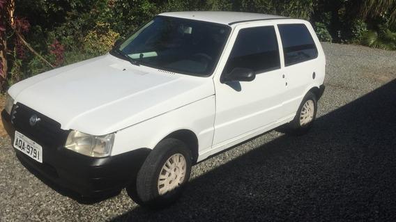 Fiat Uno Branco Flex